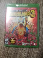 BORDERLANDS 3 DELUXE EDITION - MICROSOFT XBOX ONE 4K ULTRA HD BRAND NEW SEALED🔥