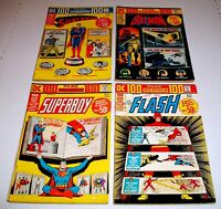 DC 100 Page Super Spectacular #18, #20, #21, & #22 1973 DC