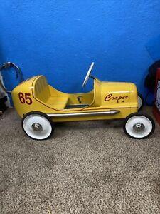 Rare BMC Special 8 Race Pedal Car  Rat Hot Rod Old Display Racers