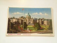 Victoria BC postcard - The Parliament Buildings Canada