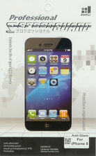 Anti-Glare Professional Screen Guard for iphone 5S Extend the Life of Lcd Screen