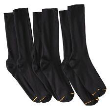 Auro® a Gold Toe Brand Men's 3pk Dress Socks - Black