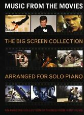 Music From The Movies The Big Screen Collection Learn to Play Piano Music Book