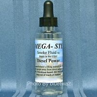 Mega Steam DIESEL POWER  Smoke Unit Fluid For Lionel O G HO N Train Stone Paint