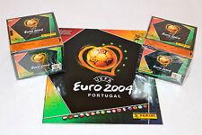 Panini em EC euro 2004 04 – 2 x box display sealed/embalaje original + barra álbum album Top!