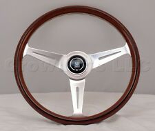 Nardi Steering Wheel Classic Wood Polished 360mm 360 mm 5061.36.3000 Brand New