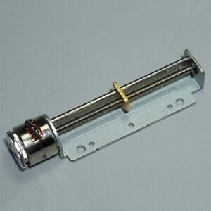 10mm Micro Mini  2-phase 4-wire Stepper Motor Long Linear screw slider Block Nut