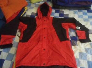 The North Face Mountain Light Gore-tex Jacket Parka Coat Women's Large Red NICE