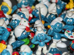 Smurf Vintage figure figurine U-pick Peyo Schleich Bully PVC many available