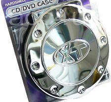 Hardshell Chrome Hard Casing Car Van Home 18 CD DVD Holder Wallet Storage Case