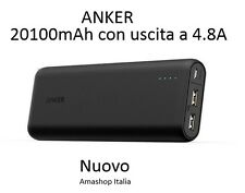 Anker Batteria esterna Caricabatterie Portatile Universale di 20100mAh PowerIQ