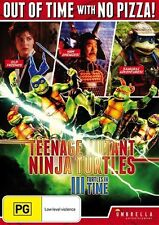 Teenage Mutant Ninja Turtles 3 - Turtles In Time (DVD, 2015)