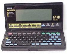 CASIO BOSS SF-8000 64KB SUPER RANDOM ACCESS MEMORY PDA BUSINESS ORGANIZER SYSTEM