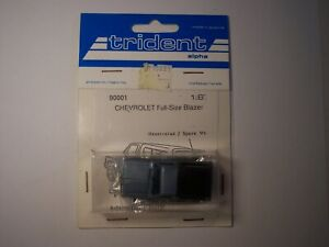 HO Scale 1:87 Vintage Trident Chevrolet Blazer new old stock OOP finished *RARE*