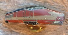 SNCF TGV PIN BADGE High Speed Train à Grande Vitesse Railway Locomotive French