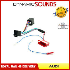 Amplified Wiring Harness ISO Lead Bose/Symphony for Audi A2 A3 A4 A6 A8 TT