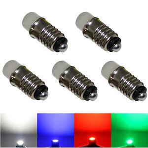 5x Ersatz LED E5 E5.5 6V Herrnhuter Miniaturstern Schraubsockel Schraubbirnen