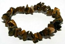 Bracelet baroque en pierres naturelles en oeil de tigre
