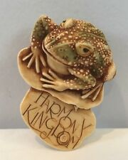 "NIP 1997 Harmony Kingdom Toad Frog Pin #RW97PC ""Toad Pin"" Royal Watch Club"
