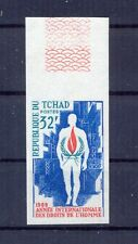 Chad, Tchad 1968 International Human Rights Year MNH VF.