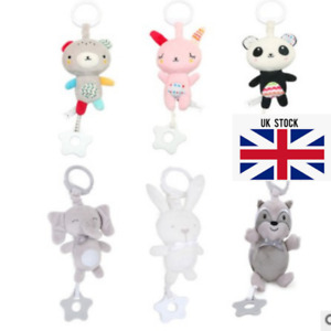 6 Designs Baby Buggy Hanging Rattles Stroller Car seat Activities Toys