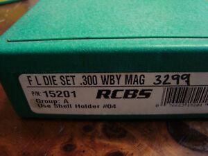 RCBS 300 WBY MAG 2 die set