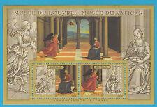 FRANCIA MUSEI VATICANI e LOUVRE RAFFAELLO CONGIUNTA DEL 2005 CON B.F. VATICANO