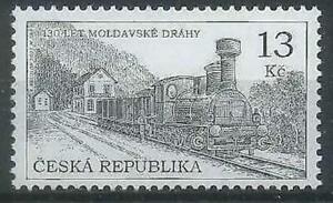 Czech Republic 2015 Transport, Railway, Trains, Locomotives MNH**