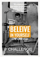 A3 Size - MOHAMED ALI BOXING 4 Art wall chart posters