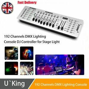 DMX512 Controller White Stage Lighting Console 192CH DJ Show Disco Party Club UK