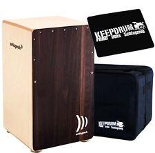 Schlagwerk CP-408 Cajon 2inOne Dark Oak  + Keepdrum Gig Bag + CP-01 Pad