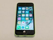 Apple iPhone 5c A1532 16GB AT&T Wireless Green Smartphone/Cell Phone *Tested*
