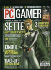 PC GAMER 1999civilization call to power,worms armageddon,land of lore3,corsairs