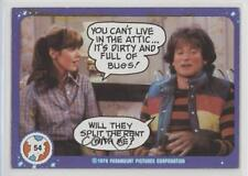 1978 Topps Mork & Mindy #54 You can't live in the attic Non-Sports Card d8a