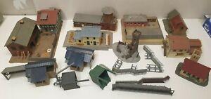 Jouef faller kibri lot de diverses maquettes (01)  en HO