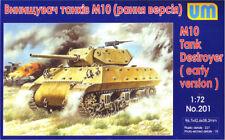 UNIMODEL 1/72 M10 Tank Destroyer (prima versione) # 201