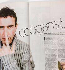 Steve Coogan interview & photo shoot Saxondale Rare British UK only magazine OOP