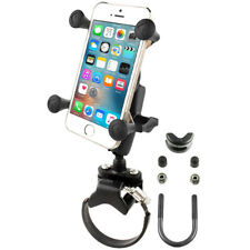 RAM ATV/UTV Mount w/ X-Grip Holder for Handlebar Roll bar - Fits iPhone & Others