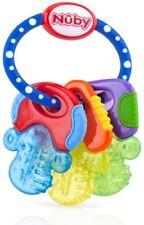 Nuby ANNEAU DE DENTITION GLACE Glacé Gel Refroidissant Bébé/Enfant Neuf