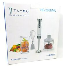 Mini Hand Blender Food Processor Whisk Set 800w  Ideal Xmas Gift