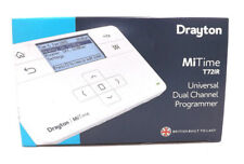 DRAYTON MiTIME T721R DUAL CHANNEL PROGRAMMER 7 DAY 5/2 DAY OR 24 HR VAT INCL