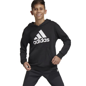 Adidas Boys Hoodie Pullover Running Young Athletes School Sports Gym Kids DV0821