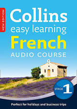 Easy Learning French Audio Course - Stage 1: CD, 3-DISC+BOOKLET, NEW, FREE POST