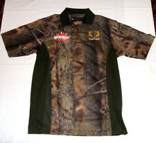 WickedRidge Crossbows TenPoint Embroidered Hunting Polo Shirt Men's Small NEW