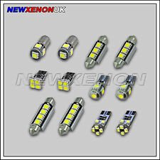 Mercedes Clase C (W204) - Bombillas Led Luz De Coche Interior Kit (12 un.) - Xenon Blanco