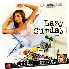 Promo Music CD, Lazy Sunday, 15 Track album, Fever, Taste of Honey, Lean on Me