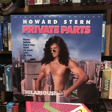 Private Parts on Laserdisc - Tested and Works - Howard Stern - Baba Booey