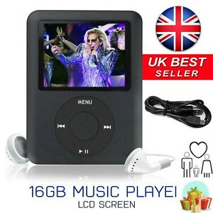 16GB Internal Memory Music MP3 Media Player with Video and Voice Recorder Games