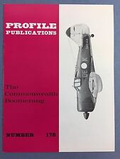 No.178 - AIRCRAFT PROFILE PUBLICATIONS - The Commonwealth Boomerang - VG