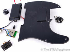 Fender Squier Jim Root HH Tele LOADED PICKGUARD Dual Black Cover Humbuckers